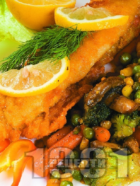 Панирана бяла риба по холандски - снимка на рецептата
